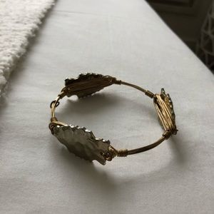 Bourbon and Bow ties Gold Arrowhead Bangle